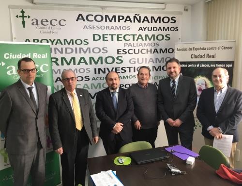 CONVENIO DE COLABORACIÓN CON LA ASOCIACIÓN ESPAÑOLA CONTRA EL CÁNCER